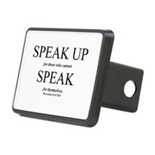 Speak Up Hitch Cover