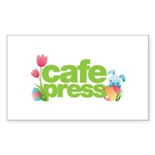CafePress Easter Decal