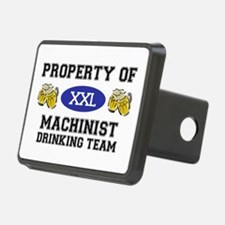 Property of Machinist Drinking Team Hitch Cover