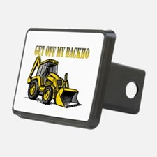 Off My Backhoe Hitch Cover