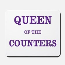 CPA Gift Queen of Counters Nickname Mousepad
