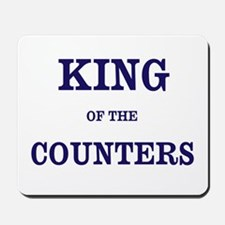 Accountant Gift King of Counters Nickname Mousepad