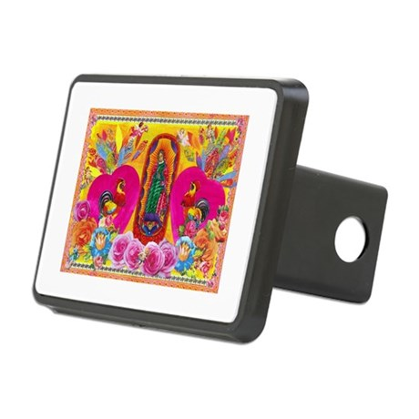 Our Lady of Color Rectangular Hitch Cover