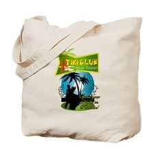 TIKI CLUB RETRO 50'S NIGHTCLUB Tote Bag