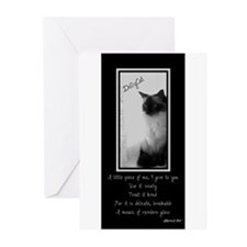DollyCat Poetry Verse - Ragdoll Cat Greeting Cards