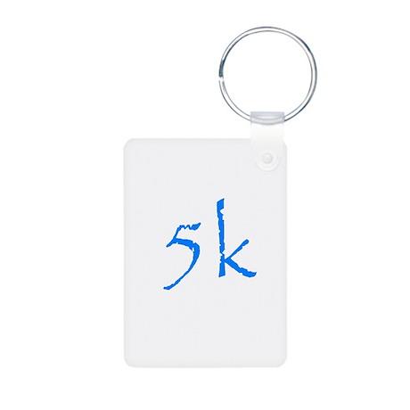 5k.png Aluminum Photo Keychain