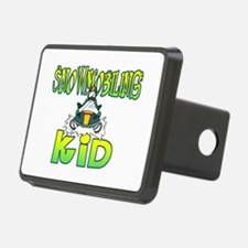 Snowmobiling Kid Hitch Cover