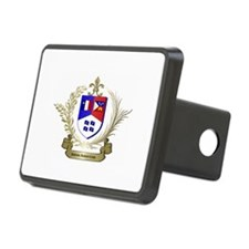 Authentic ACADIAN-CAJUN Crest Hitch Cover