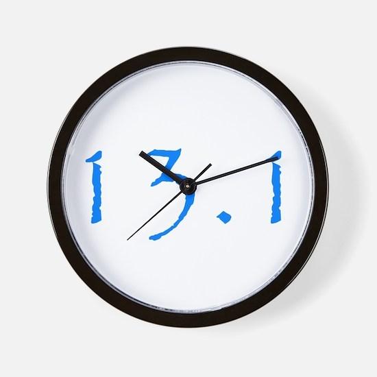 half marathon miles.png Wall Clock