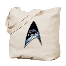 StarTrek Command Silver Signia defiant Tote Bag
