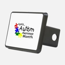 April Is Autism Awareness Month Hitch Cover