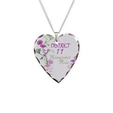 Remember Rue Necklace Heart Charm
