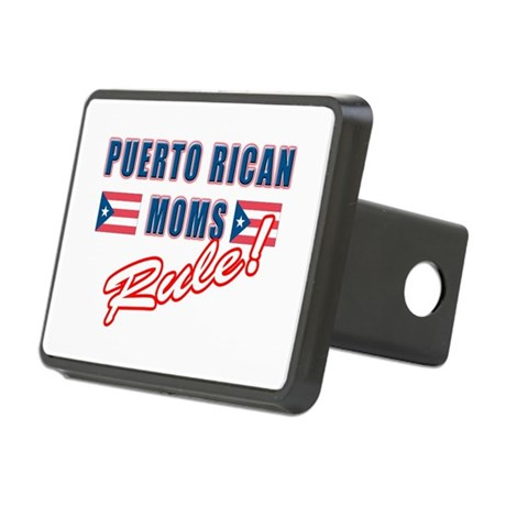 Puerto Rican Moms Rule Rectangular Hitch Cover