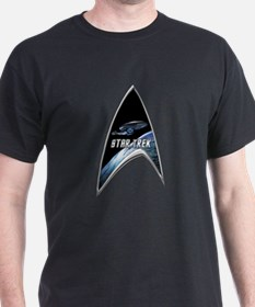 StarTrek Command Silver Signia voyager.png T-Shirt