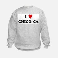 I Love Chico Sweatshirt