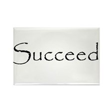 Succeed.png Rectangle Magnet