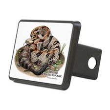 Timber or Canebrake Rattlesnake Hitch Cover