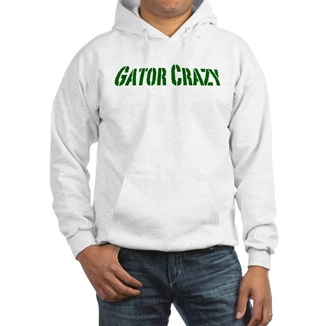 gator crazy.png Hooded Sweatshirt