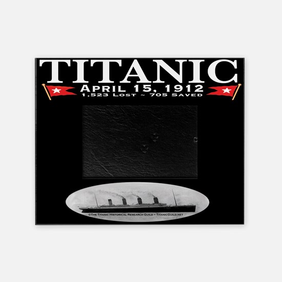 Titanic Ghost Ship Picture Frame (black)