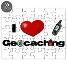 I Love Geocaching Puzzle