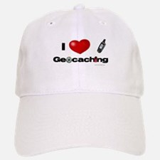 I Love Geocaching Baseball Baseball Cap