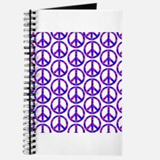 Peace Sign Print Pink Cherry Blossom.png Journal