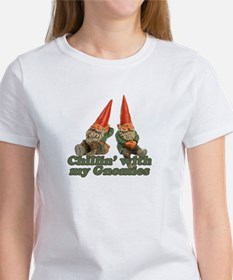 Chillin' with my gnomies Women's T-Shirt