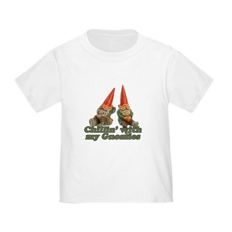 Chillin' with my gnomies Toddler T-Shirt