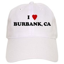 I Love Burbank Baseball Cap
