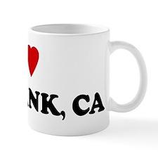 I Love Burbank Coffee Mug