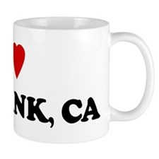 I Love Burbank Small Mugs