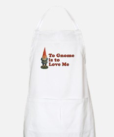 To Gnome is to Love Me BBQ Apron