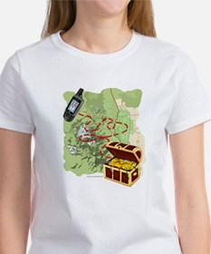 Geocache to Treasure Women's T-Shirt