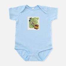 Geocache to Treasure Infant Bodysuit