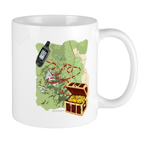 Geocache to Treasure Mug