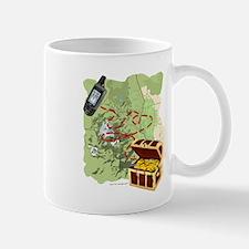Geocache to Treasure Small Mugs