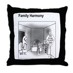 Family Harmony Throw Pillow