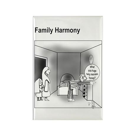 Family Harmony Rectangle Magnet
