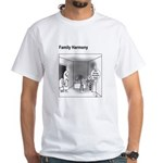 Family Harmony White T-Shirt