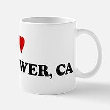 I Love Bellflower Mug