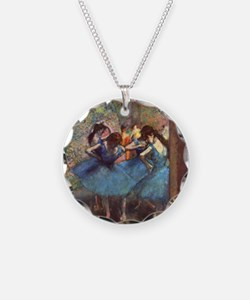 Dancers in Blue Necklace Circle