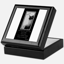 DollyCat Poetry Verse - Ragdoll Cat Keepsake Box