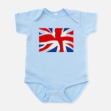 Union Jack Infant Creeper