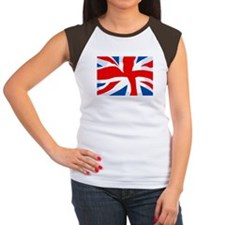 Union Jack Women's Cap Sleeve T-Shirt