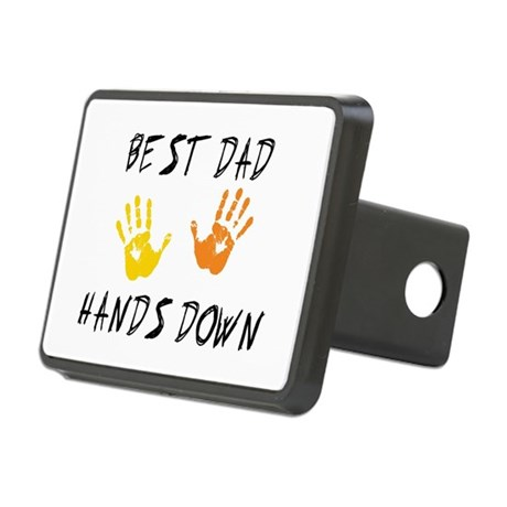 Best Dad Rectangular Hitch Cover