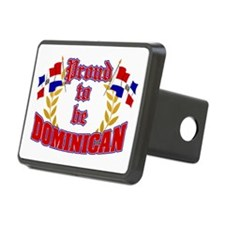 Proud to be Dominican Hitch Cover