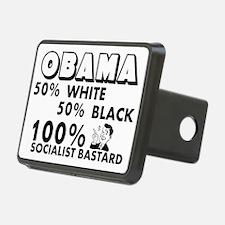 """Obama: 100% Socialist Bastard"" Rectangu"