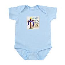He is Risen Easter Infant Bodysuit