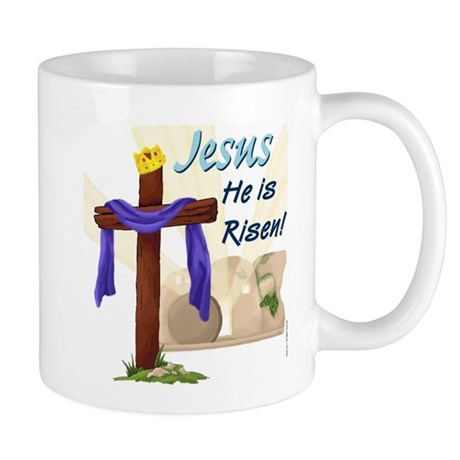 Jesus is Risen Easter Mug