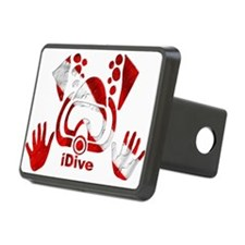 iDive Dive Flag Original Hitch Coverle